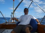 solo sailing on