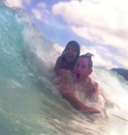 Body Surfing in Waimanalo