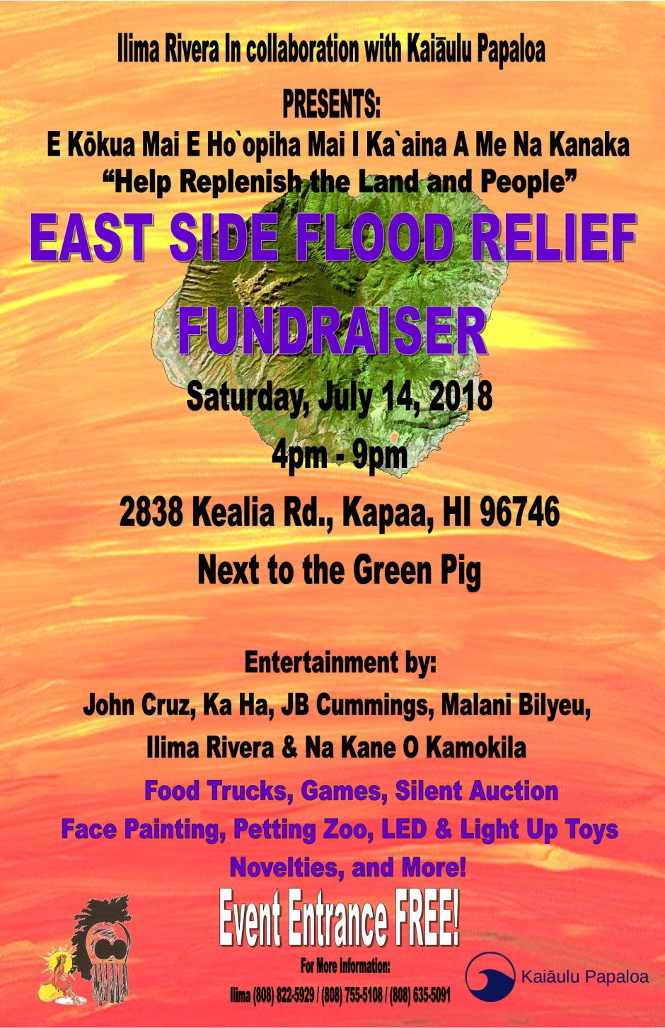 East Side Flood Relief Benefit