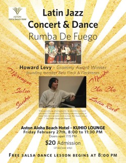 Latin Jazz Concert & Dance