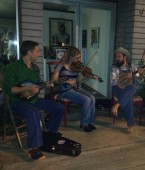 Matt Morelock and Friends and his 9 Year old Washboard player!